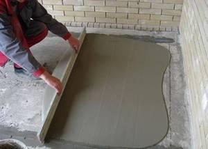 Улучшение качественности бетонного пола