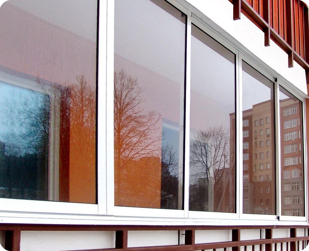 Остекление балконов окнами века..