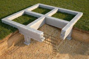Определение мощности фундамента для постройки дома
