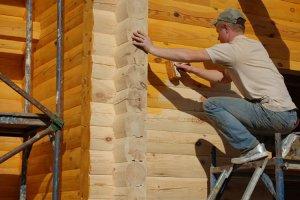 Особенности огнезащиты жилых домов из дерева