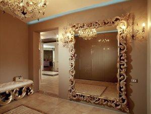 Зеркала в оформлении интерьера квартиры