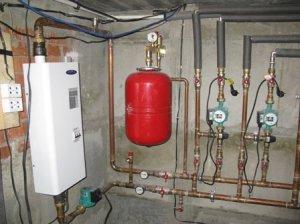Использование расширительных бачков в системе отопления