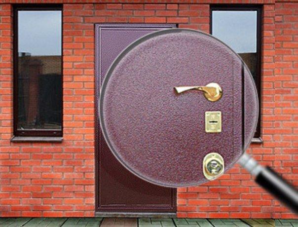 входные двери порошковая