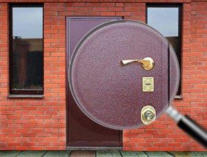 Типы покрытий входных металлических дверей
