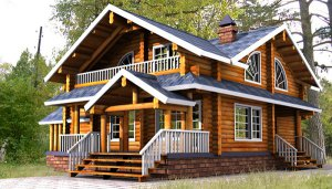 Особенности деревянных финских домов